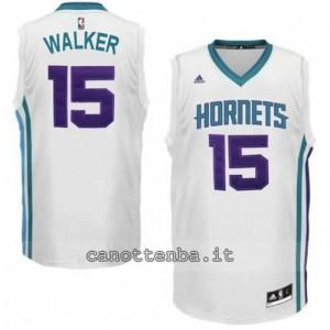maglia kemba walker #15 charlotte hornets bianca