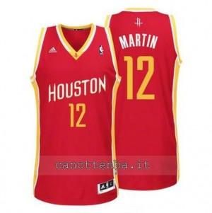maglia kevin martin #12 houston rockets revolution 30 rosso