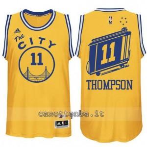 maglia klay thompson #11 golden state warriors classico giallo