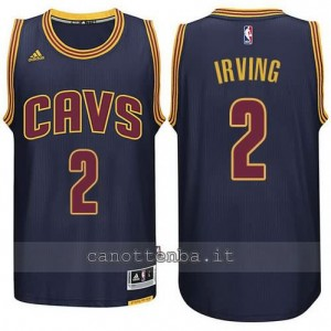 maglia kyrie irving #2 cleveland cavaliers 2014-2015 blu