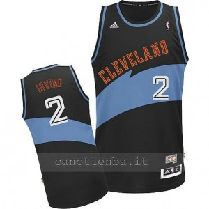 maglia kyrie irving #2 cleveland cavaliers retro nero