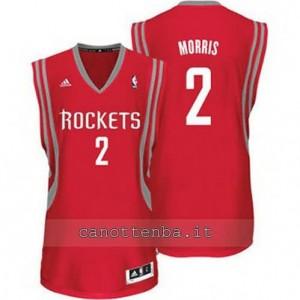 maglia marcus morris #2 houston rockets revolution 30 rosso