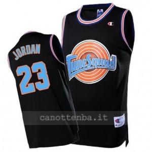 maglia michael jordan #23 chicago bulls tune squad nero