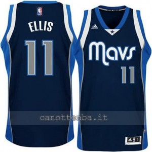 maglia monta ellis #11 dallas mavericks navy blu