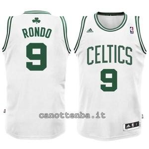 maglia nba bambino boston celtics rajon rondo #9 bianca