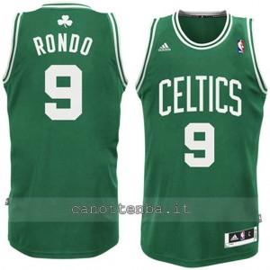 maglia nba bambino boston celtics rajon rondo #9 verde