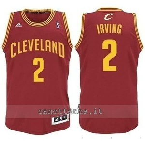 maglia nba bambino cleveland cavaliers kyrie irving #2 rosso