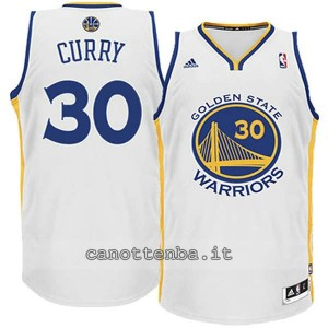 maglia nba bambino golden state warriors stephen curry #30 bianca