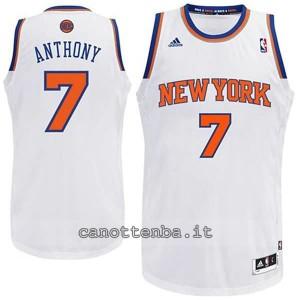 maglia nba bambino new york knicks carmelo anthony #7 bianca