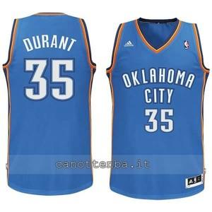 maglia nba bambino oklahoma city thunder kevin durant #35 blu