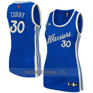 maglia nba donna stephen curry #30 golden state warriors natale 2015