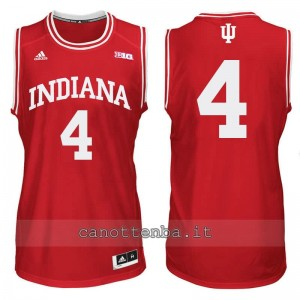 maglia ncaa indiana hoosiers victor oladipo #4 rosso