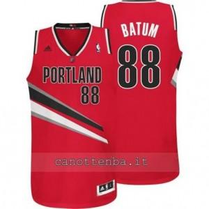 maglia nicolas batum #88 portland trail blazers revolution 30 rosso