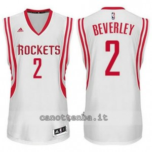maglia patrick beverley #2 houston rockets 2014-2015 bianca