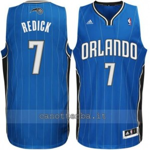 maglia redick #7 orlando magic revolution 30 blu