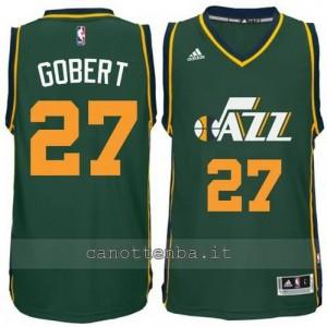 maglia rudy gobert #27 utah jazz 2014-2015 verde
