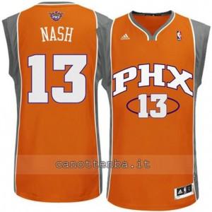 maglia steve nash #13 phoenix suns revolution 30 arancia