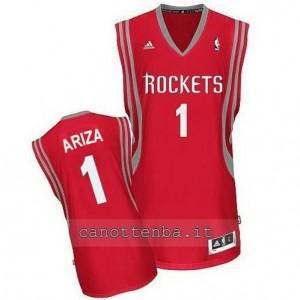 maglia trevor ariza #1 houston rockets revolution 30 rosso