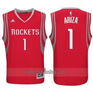 maglia trevor ariza #1 houston rockets rosso
