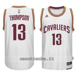 maglia tristan thompson #13 cleveland cavaliers 2014-2015 bianca