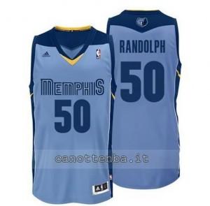 maglia zach randolph #50 memphis grizzlies revolution 30 blu