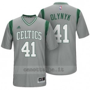 maglietta kelly olynyk #41 boston celtics alternato grigio