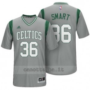 maglietta marcus smart #36 boston celtics alternato grigio