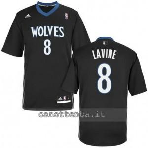 maglietta zach lavine #8 minnesota timberwolves nero