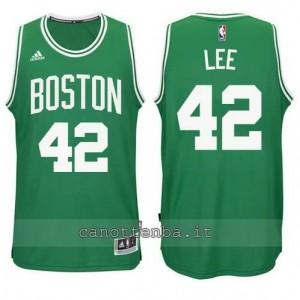nuova maglia david lee #42 boston celtics verde