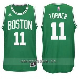 nuova maglia evan turner #11 boston celtics verde