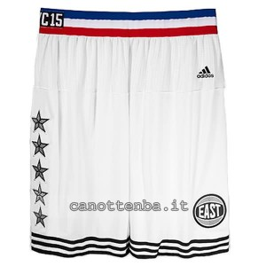 pantaloncini basket nba all star 2015 bianca
