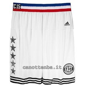pantaloncini basket nba all star 2015 bianca
