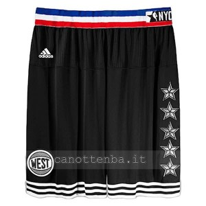 pantaloncini basket nba all star 2015 nero