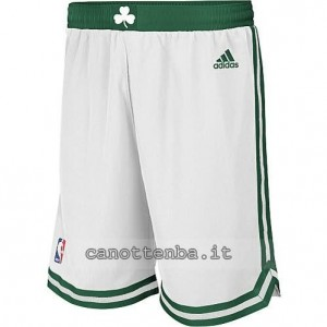 pantaloncini nba boston celtics bianca