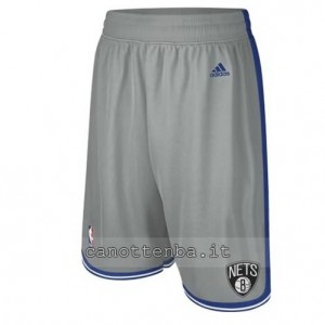 pantaloncini nba brooklyn nets grigio