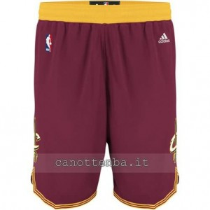 pantaloncini nba cleveland cavaliers rosso