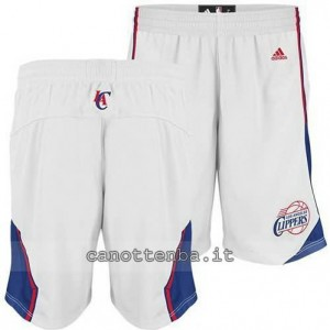 pantaloncini nba los angeles clippers bianca