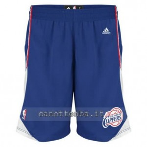 pantaloncini nba los angeles clippers blu